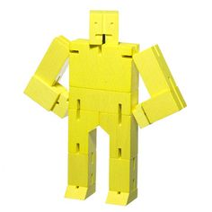 Areaware Cubebot Small Yellow