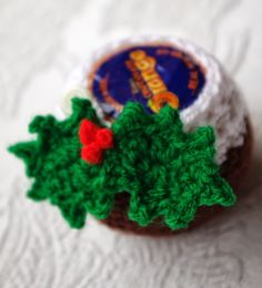 The Other Mrs Beaton: Freebie Festive Pattern: A Crochet Christmas Pud (Chocolate Orange cosy)!
