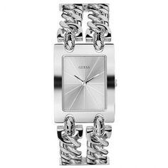 Ricardo Eletro Relógio Feminino Guess, Analógico, Pulseira de Aço,Resistente à Água WR - R$185