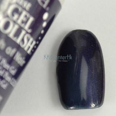 (OPI Russian Navy dupe) ibd Just gel polish- Touch Of Noir KKcenterHk