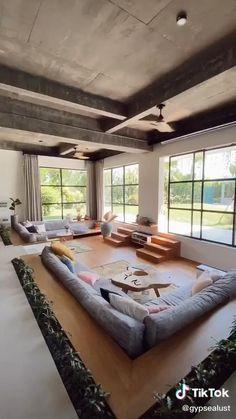 Loft Design, Home Room Design, Dream Home Design, Home Interior Design, Interior Architecture, Best Home Design, Renta Casa, Modern Villa Design, Unique House Design