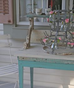 Chateau Chic: French Bottle Drying Rack
