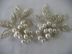 sew on BEADED   APPLIQUE by Toide on Etsy, $10.00: