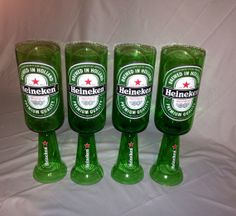 how to cut beer bottles into glasses