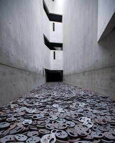 The Memory Void room of the Jewish Museum. Photograph: Alamy