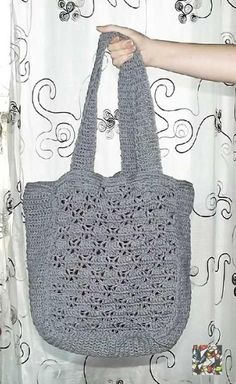 Crochet X Bag Pattern free pattern http://www.craftsy.com/pattern/crocheting/accessory/x-bag/79604