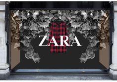 Zara Window Display - CAD