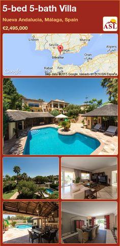 5-bed 5-bath Villa in Nueva Andalucia, Málaga, Spain ►€2,495,000 #PropertyForSaleInSpain