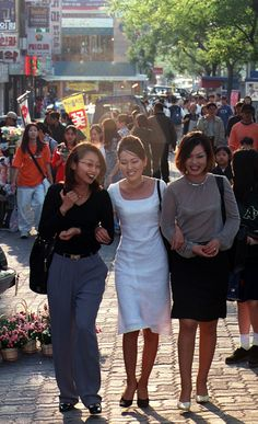 Korea Street Style, Japanese Street Fashion, Asian Fashion, 90s Fashion, Vintage Fashion, Fashion Outfits, 90s Outfit, 1990s, Cool Outfits