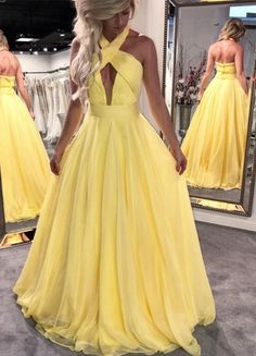 Cheap Appealing Bridesmaid Dress Unique, Prom Dresses Chiffon, Bridesmaid Dress A-Line, Yellow Bridesmaid Dress Yellow Prom Dresses Bridesmaid Dress For Cheap Prom Dresses Bridesmaid Dress Unique Bridesmaid Dress Chiffon Prom Dresses 2019 Open Back Prom Dresses, Elegant Prom Dresses, Backless Prom Dresses, A Line Prom Dresses, Unique Dresses, Formal Dresses, Dress Prom, Dress Long, Prom Gowns