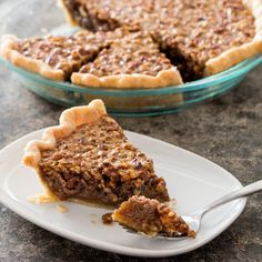 Here's how to make a pecan pie that actually tastes like pecans. Our pie sports a crisp crust (no sogginess in sight) & a smooth, not-too-sweet filling.