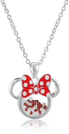 Absolutely Gorgeous Disney Minnie Mouse Shaker Pendant