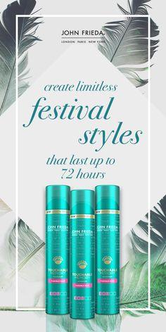The ultimate festival hairspray  #FestivalHair #FestivalStyle #FestivalBeauty