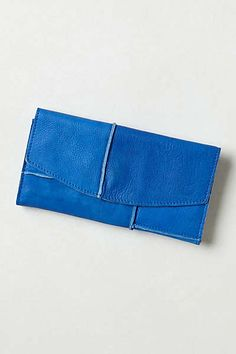 Anthropologie - Dip-Dyed Leather Wallet