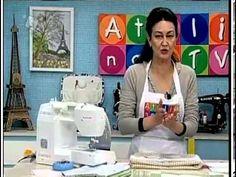 Edição sem comercial da Vídeo aula da Artesã Patrícia Washington ensinando técnicas básicas de patchwork.