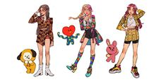 """""""What if BTS were a female group? BTS - Idol MV - Female Version I really love these outfits, I think they're my favourite as far! And in my mind I would have really liked to see them as if they have been designed for girls 🥰 Ioi Doyeon, Foto Bts, K Pop, Maou Sama, Bts Mv, Bts Inspired Outfits, Bts Maknae Line, Bts Girl, Bts Memes Hilarious"""