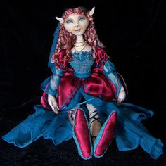 balderdash and brimborion - by jen jamieson: OOAK cloth dolls