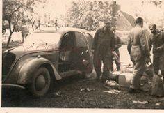 peugeot202furgon (R58c) Tags: auto car military ww2 vehicle 2wk peugeot 202 fahrzeug wehrmacht pkw beute kfz