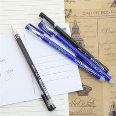 1 개 사무실 문구 312 그램 남녀 펜 지울 수있는 펜 남녀 0.5 젤 펜 4 색 선택 학습 필수