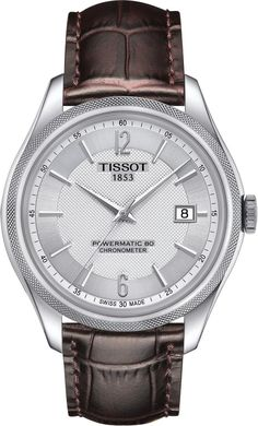 Tissot Watch Ballade Powermatic 80 Mens #add-content #basel-18 #bezel-fixed #bracelet-strap-leather #brand-tissot #case-depth-9-8mm #case-material-steel #case-width-41mm #cosc-yes #cws-upload #date-yes #delivery-timescale-call-us #dial-colour-silver #discount-code-allow #gender-mens #luxury #movement-automatic #new-product-yes #official-stockist-for-tissot-watches #packaging-tissot-watch-packaging #style-dress #subcat-powermatic #supplier-model-no-t1084081603700