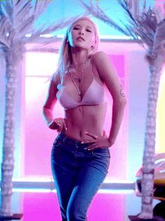 Kim Hyuna - Roll Deep MV perving on female kpop