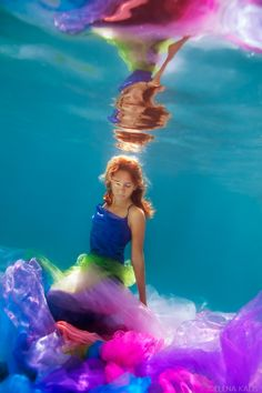 Stunning Underwater Photography by Elena Kalis who lives on the small island in The Bahamas. Her work has an ethereal, fairytale quality to it which is so artful.