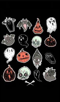 Spooky cute tattoo                                                                                                                                                      More