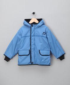 Light Blue Elfin Parka - Infant, Toddler & Kids