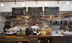 Tanya's Cafe, a healthy raw food café/juice bar in London on Wander wander.thisisaday.com #thisisADAY #ADAY #AWanderADAY