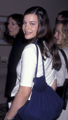 Liv Tyler at the Women in Film Crystal Awards - June 13, 1997.