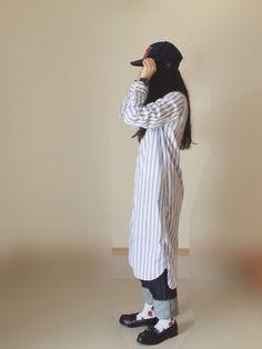 髪、くくる? むすぶ? わたしは、しばるって言う派です。 Shirt Dress, How To Wear, Shirts, Dresses, Fashion, Vestidos, Moda, Shirtdress, Fashion Styles