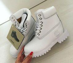 White white boots I love them.
