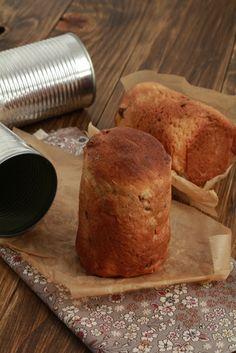 On dine chez Nanou | Pannetone individuel à offrir, cuit dans une boite de conserve |       J'ai tout de suite flashé dans mon journal de cuisine Delicious sur cette recette tant sur...