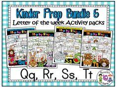 Alphabet Preschool Directional Tracing Practice Worksheets