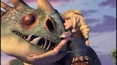 I love Astrid's relationship with Stormfly. Second only to Hiccup's with Toothless. With Heather's relationship with Windshear close behind.
