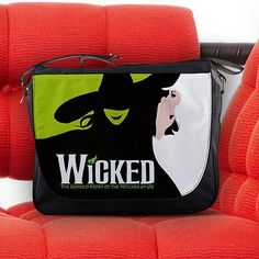 Wicked The Untold Story of The Witches of OZ Nylon Messenger Sling Notebook Bag