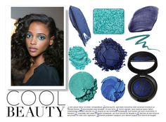 """""""True Blue: Cool Eyeshadow"""" by ashley-lanette-hays on Polyvore featuring beauty, Laura Geller, MAKE UP FOR EVER, Maybelline, NARS Cosmetics, Diane Von Furstenberg, Lancôme, Stila, shu uemura and Lily Lolo"""
