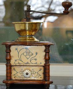 Old coffee grinder