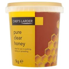 Pure Clear Honey 1kg (Chef's Larder) #ChefsLarder #Honey