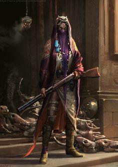 ArtStation - Voodoo witch, Daria Rashev