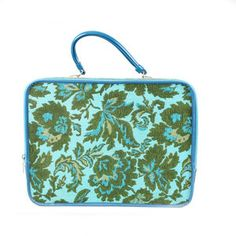 Blue Tapestry Travel Suitcase, $54, now featured on Fab.