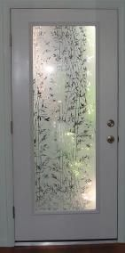 Site for frosted glass film. Would love to use this on my front glass door.