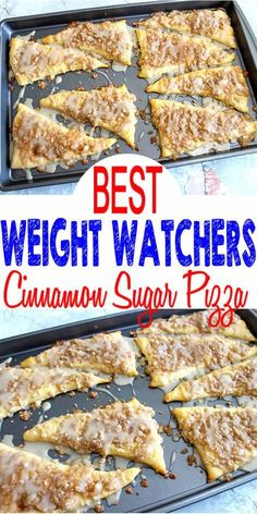 Tasty Weight Watchers Cinnamon Sugar Pizza you CAN NOT stop eating! This Weight Watchers recipe is easy to make and super yummy. Simple WW recipe for the BEST breakfast, treat, snack or dessert. Weight Watchers diet cinnamon sugar pizza that is a heavenly Weight Watcher Desserts, Weight Watchers Snacks, Plats Weight Watchers, Weight Watchers Breakfast, Weight Watcher Cookies, Weight Watchers Program, Ww Desserts, Dessert Recipes, Lowfat Dessert Recipe