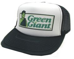 Green Giant Trucker hat - Products, Business and Brands Trucker Hats & More