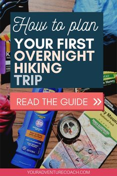 Preparing for your first backpacking can be overwhelming. Don't worry! I am here to help you plan out your first ever backpacking trip, without overthinking it too much. If you're brand new to backpacking and overnight hiking, just follow these 6 steps and you'll be well on your way to your first wilderness adventure! Hiking Tips, Camping And Hiking, Hiking Gear, Hiking Backpack, Camping Meals, Hiking Essentials, Backpacking Tips, Appalachian Trail, Survival Prepping