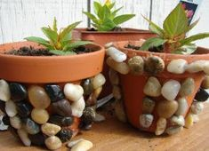 Garden Crafts...Bagel Birdfeeders, Clay Pot Mosaic, Jeweled Markers, Paper Strip Flowers, Pumpkin Garland, Stick Markers...