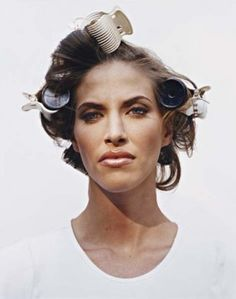Larry Sultan, Woman in Curlers.