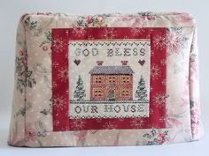 Christmas Toaster Cover by PatsysPatchwork on Etsy, $16.00
