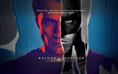 """The complete official soundtrack of """"Batman v Superman: Dawn of Justice"""" is now available to listen for free. (click to go to youtube)"""