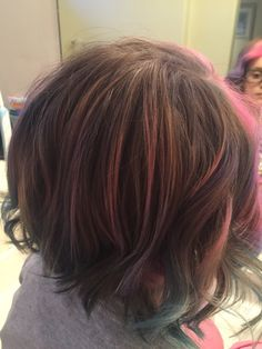 Back view Kids Hair Color, Pink Ombre Hair, Coloring For Kids, Trendy Hairstyles, Long Hair Styles, Beauty, Trendy Haircuts, Coloring Pages For Kids, Latest Hairstyles